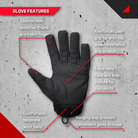features of tactical gloves