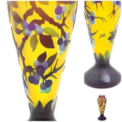Second Look: Emile Galle French Cameo Glass Vase