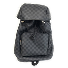 LOUIS VUITTON Damier Graphite Canvas Zack Backpack N40005 Bag