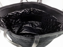 Load image into Gallery viewer, Chanel Camellia Limited Edition Black Terry Cloth Beach Tote & Towel Set