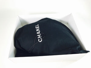 Chanel CC Black Soft Leather Modern Chain Hobo Bag 2007