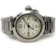 Load image into Gallery viewer, Cartier Pasha 35mm Stainless Steel Automatic Date Watch 2324