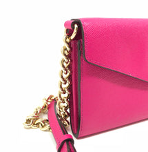 Load image into Gallery viewer, Michael Kors Pink Envelope Crossbody Handbag
