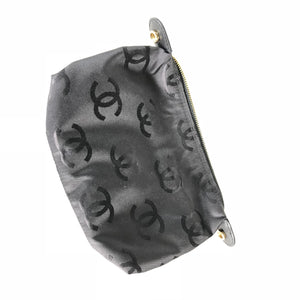 Chanel Vintage Black V-stitch Chain Shoulder Bag