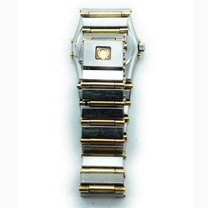 Omega Constellation Mini 6104-465 Two-Tone 18K Gold Ladies Quartz Watch
