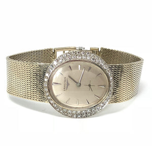 Longines 14K White Gold 1.25ctw Diamond Ladie's Watch
