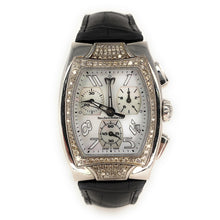 Load image into Gallery viewer, Technomarine Technosquare Stainless Steel 1.02ctw Diamond Watch