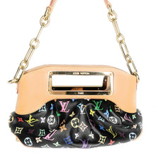 Load image into Gallery viewer, Louis Vuitton Black Monogram Multicolore Judy PM