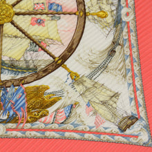 Load image into Gallery viewer, HERMÈS Face au Large Pleated Silk Scarf/Wrap