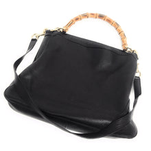 Load image into Gallery viewer, Authentic Gucci Diana Bamboo Shoulder Bag Leather Medium Plus Cross Body Strap