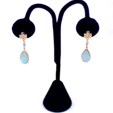 Load image into Gallery viewer, 14 Karat Gold and Jade Jewelry Earrings - 3 Sets