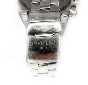 Breitling Super Avenger 48mm Mens Watch A13370 w/ Custom MOP Diamond Dial & Diamond Bezel