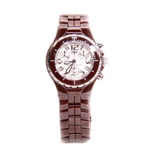 Load image into Gallery viewer, TechnoMarine Brown Ceramic Chronograph Quartz Watch