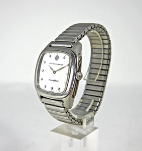 David Yurman T303-SST Mother Of Pearl & Diamond Thoroughbred Watch