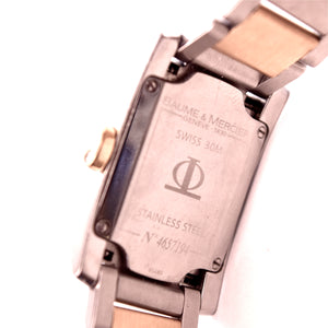 Baume & Mercier DIAMANT (M0A08738) Two-Tone Stainless Steel and Gold Watch Jewelry