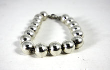 Load image into Gallery viewer, Tiffany & Co. Sterling Silver Bead Ball Bracelet