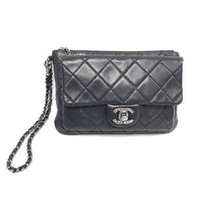 Load image into Gallery viewer, Chanel Quilted Lambskin Mineral Nights Mini Wristlet Pouch