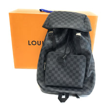 Load image into Gallery viewer, LOUIS VUITTON Damier Graphite Canvas Zack Bacpack N40005 Bag