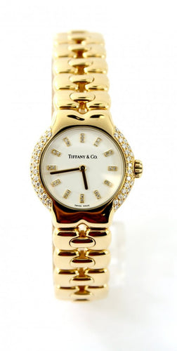Tiffany & Co. 18K Yellow Gold Diamond Tesoro Women's Watch