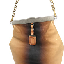 Load image into Gallery viewer, Prada Ombre Vitello Leather Frame Chain Shoulder Bag