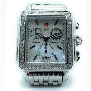 MICHELE DECO Day Diamond MW06P01A1025 Stainless Steel Ladies Watch