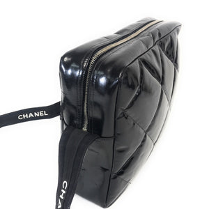 Vintage Chanel Patent Leather Crossbody Bag
