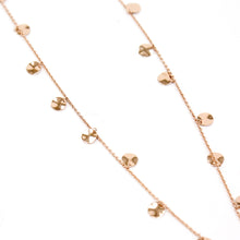 Load image into Gallery viewer, Ippolita Sterling Silver with 18K Rose Gold Plated Disc Chain Necklace