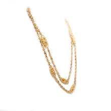 Load image into Gallery viewer, Camrose & Kross Gold Tone and White Stone Replica Jacqueline Kennedy's Necklace
