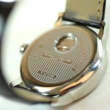 Load image into Gallery viewer, Baume & Mercier Automatic Dual Time Brown Leather Watch