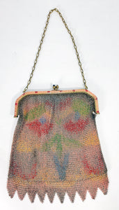 Antique 1920's Mesh Flapper Purse