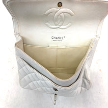 Load image into Gallery viewer, Chanel Quilted White Classic Double Small Flap Bag