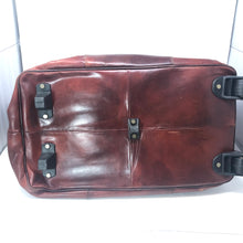 Load image into Gallery viewer, I Medici Ferenze Italian Leather Duffle Bag
