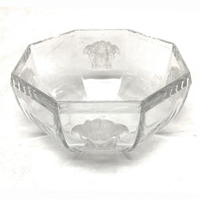 Load image into Gallery viewer, Versace by Rosenthal Medusa Lumiere Bowl, Crystal 7""