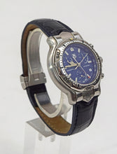 Load image into Gallery viewer, Men's Tag Heuer CH1111 Chronograph Professional Blue Dial Stainless Steel