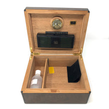 Load image into Gallery viewer, Daniel Marshall 30050 Series 50 Cigar Humidor - Precious Burl Wood