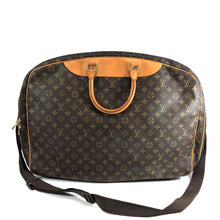 Load image into Gallery viewer, Louis Vuitton Alize 2 Poches with Lock Brown Weekend/Travel Bag