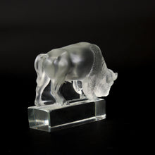 Load image into Gallery viewer, LALIQUE Collectable Glass Bison