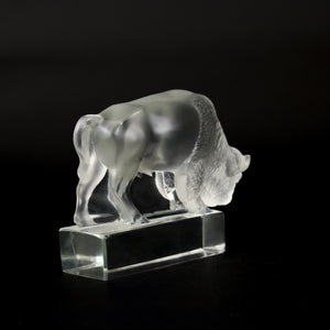LALIQUE Collectable Glass Bison