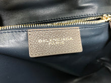 Load image into Gallery viewer, Balenciaga Pebbled Leather 'Tube Round' Large Tote Bag