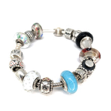 Load image into Gallery viewer, SPECTACULAR! Pandora Sterling Silver Charm Bracelet
