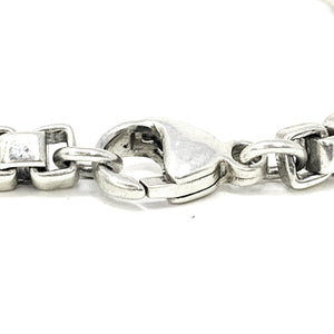 Tiffany & Co Sterling Silver Venetian ID Bracelet
