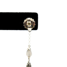 Load image into Gallery viewer, John Hardy Classic Chain Drop Earrings + Necklace Set in Sterling Silver, Opal, Moonstone
