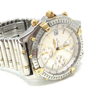 Breitling Chronomat Evolution D13050.1 Men's Automatic Watch 18K YG & SS 39MM