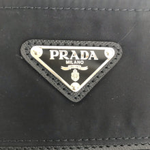 Load image into Gallery viewer, Prada Vela Crossbody Black Nylon Bag