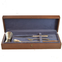 Load image into Gallery viewer, Antique British Silver Fish Serving Set with Original Box