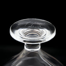 Load image into Gallery viewer, LALIQUE Crystal Frosted Flower Perfume Bottle with Matching Stopper and Sticker