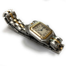 Load image into Gallery viewer, AUTHENTIC! Cartier 18K & Stainless Steel Panthère Ladies Watch