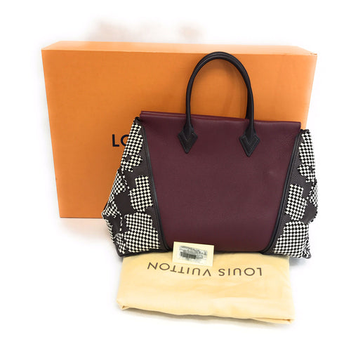 Louis Vuitton Veau Cachemire Calfskin Leather W Bag GM
