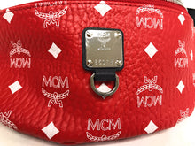Load image into Gallery viewer, MCM Fursten Belt Bag in White Logo Visetos