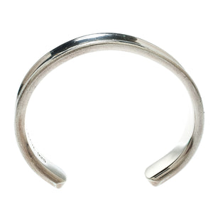 Tiffany & Co. Sterling Silver 1837 Open Cuff Bracelet